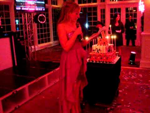 Laurens Sweet 16 Birthday Candle LIghting Ceremony