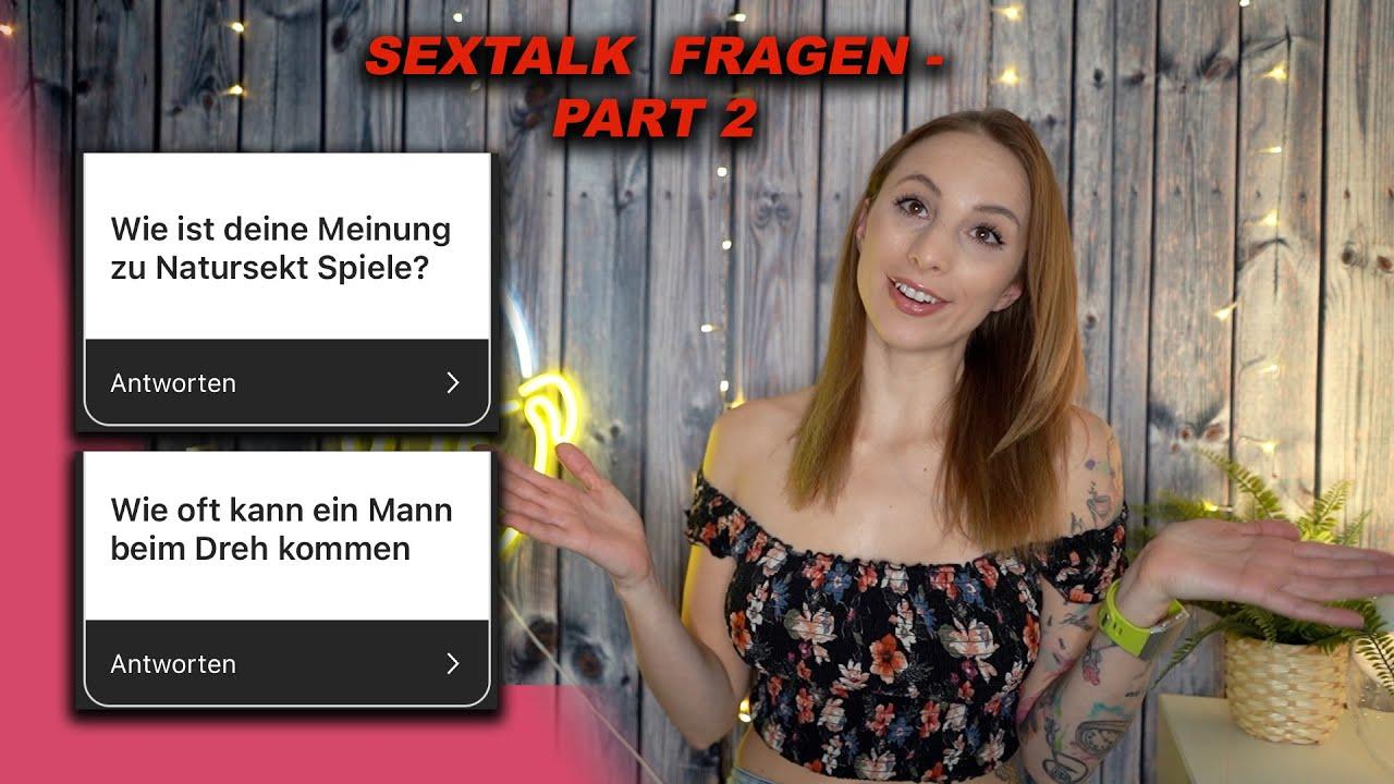Sextalk Part 2 : Wie oft kann ein Mann beim Dreh kommen