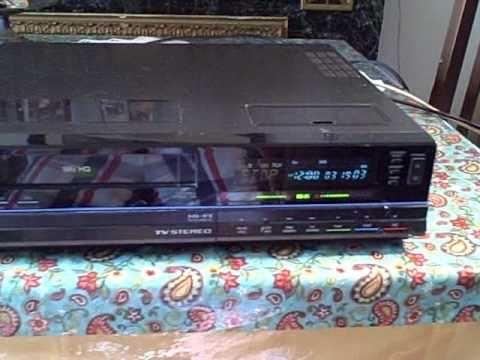 Magnavox Hi-Fi VHS VCR Model VR9560AT01