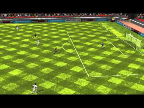 FIFA 14 Android - 11 DE MESSI VS 11 DE ALABA