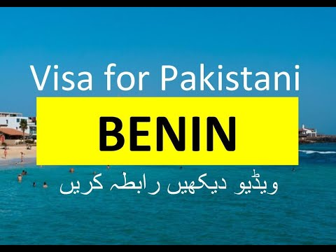 Benin Visa for Pakistani l Contact us