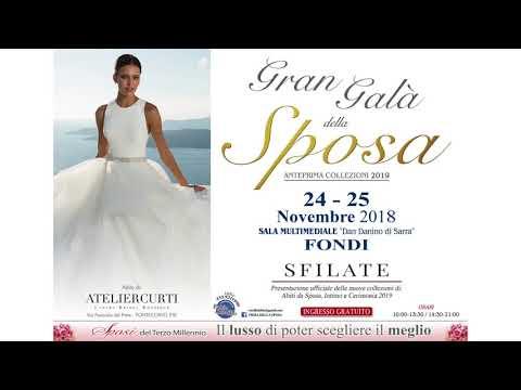 7d889c12ccba Fiera della Sposa Fondi - YouTube