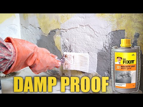 DAMP PROOF AND WALL REPAIRING - How To Repair Water Damaged Wall ^_^