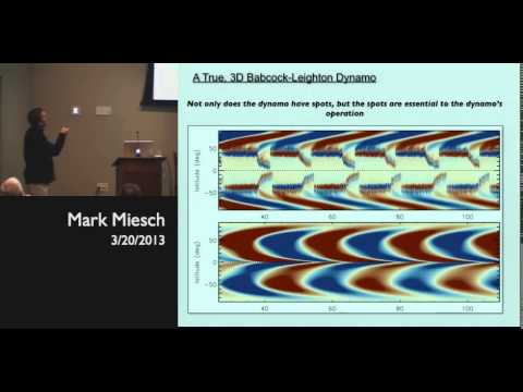 Mark Miesch | High Altitude Observatory | Dynamic Origins of Solar Magnetism