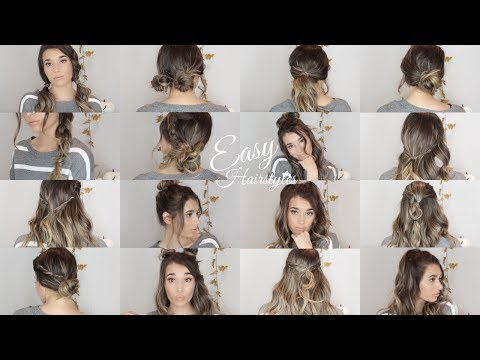20 QUICK & EASY Fall/Winter Hairstyles   2017