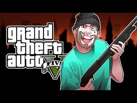 GTA 5 JOINING A GANG! (GTA 5 Online RP)