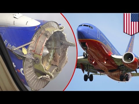 Engine failure: Southwest Airlines flight diverted after engine explosion mid-air - TomoNews