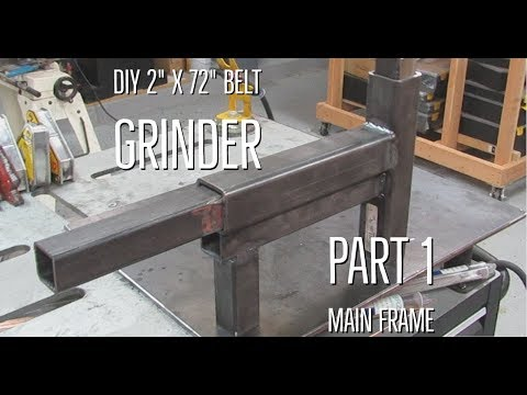DIY 2 x 72 belt grinder part 1