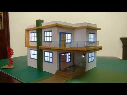 House DIY How to make paper House