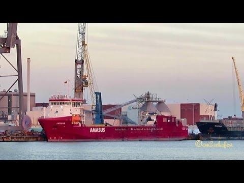 JAGUAR IMO 9613628 PCKO Emden Germany  seaship ship vessel General Cargo Frachtschiff Seeschiff Schi