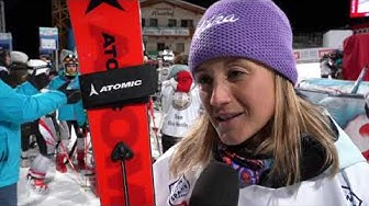 Highlights des Audi FIS Skiweltcup Damen Nachtslalom Flachau 2020