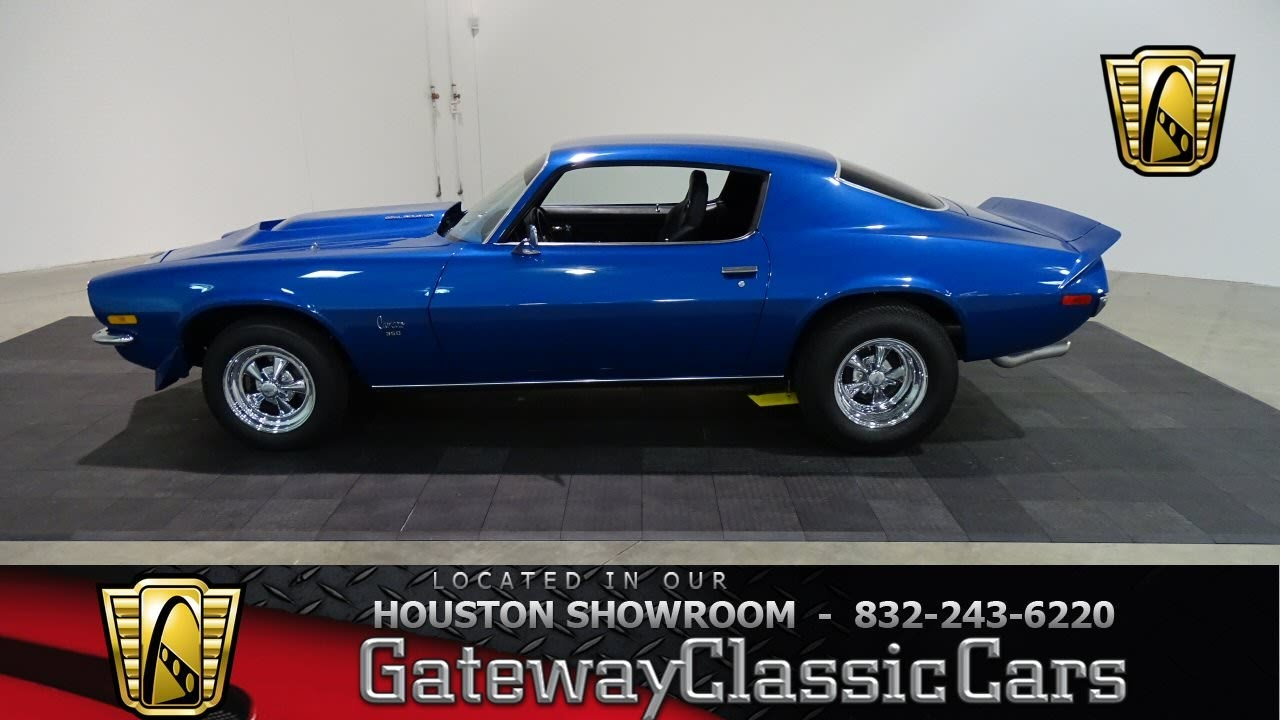Chevrolet Camaro Hou Gateway Classic Cars Houston Youtube