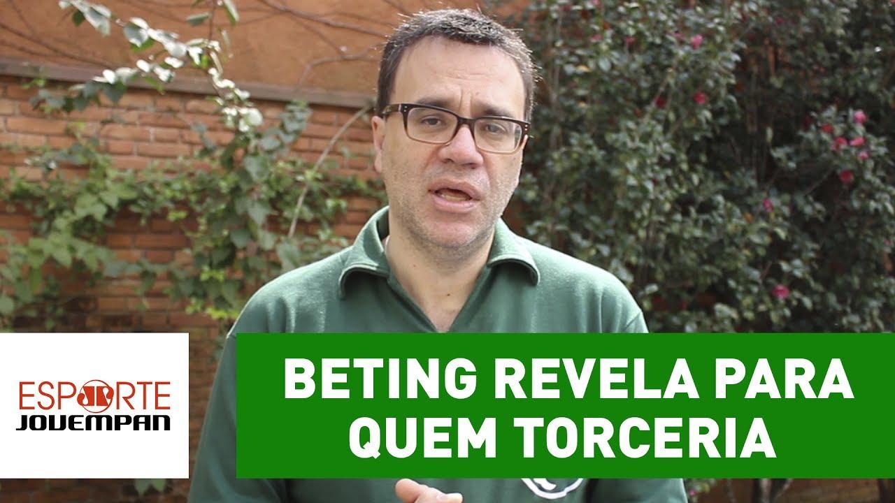 620813a77 Mauro Beting revela para quem torceria se não fosse Palmeiras! - YouTube