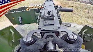 【FPS視点】ブローニングM2重機関銃 & M240機関銃射撃・ハンヴィー(軍用車)搭載