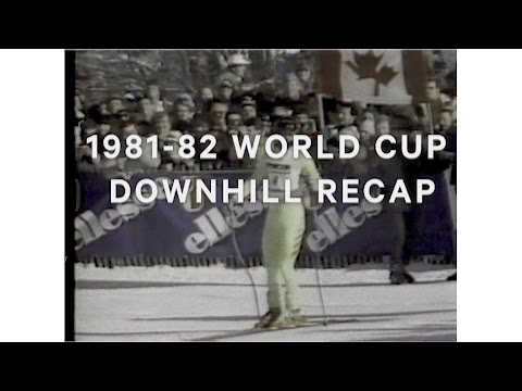 Crazy Canuck Steve Podborski takes home the 1981-82 World Cup Downhill title.