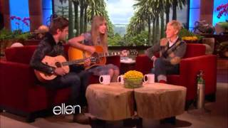 Taylor Swift and Zac Efron sing a song for Ellen