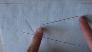 Пересечение прямой и отрезка
