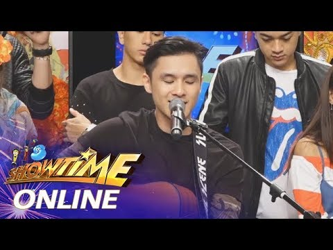 It's Showtime Online: Paolo Onesa sings