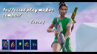 Poised Playmaker Skin Combos - Fortnite Battle Royale - Comma