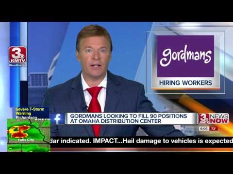Gordmans to hire 90 positions at distribution center