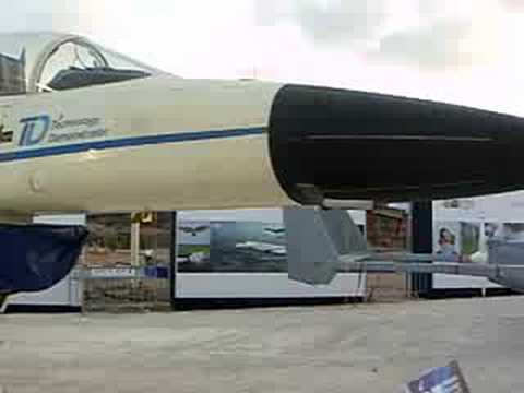 Lavi Developed during the 1980s Technology Demonstration by IAI, Israel Military Weapon Technology Exhibition 2008 -33.
