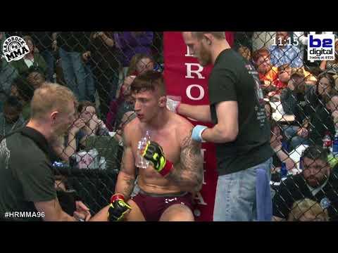 Hardrock MMA 96 Fight 13 Ruben Warr vs BJ Ferguson 145 PRO Title