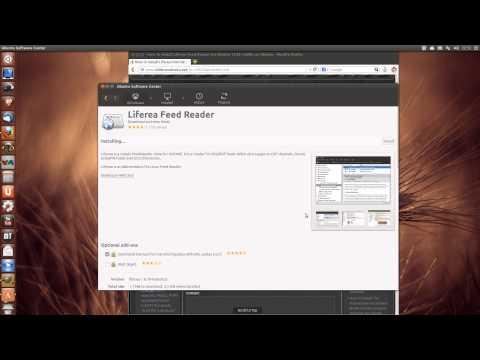 How To Install Liferea Feed Reader On Ubuntu 13.04