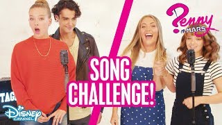 The Song Challenge 🎶 | Penny on M.A.R.S | Disney Channel Africa