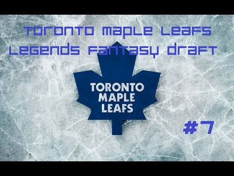 NHL 16 GM Mode Toronto Maple Leafs Legends Fantasy Draft Episode 7- Trades And Year 3 Start