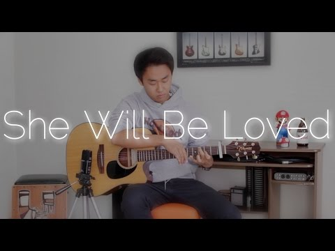 Maroon 5 She Will Be Loved - Rodrigo Yukio Fingerstyle Guitar Cover & New Channel FREE TABS