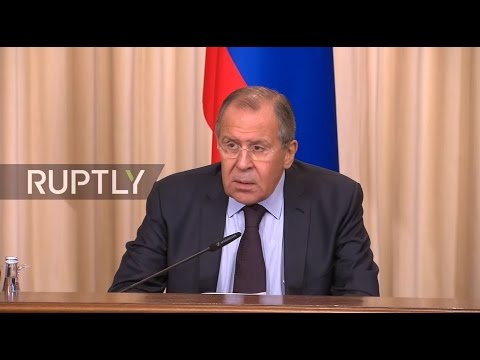 LIVE: Lavrov, Zarif and Muallem hold press conference following meeting in Moscow