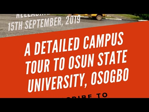 Campus Crawl: A must watch for all Osun State University Aspirants and Students as Crawler hits Osogbo Campus first [Watch]