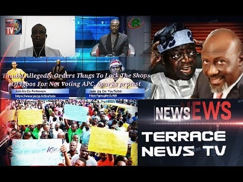 Live Biafra TV: Tinubu Orders Thugs To Lock Igbo's Shops For Not Voting APC, Sparks protest