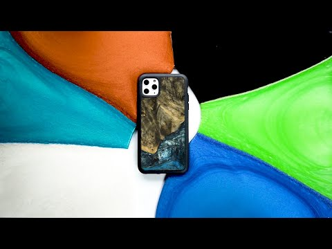Covering The iPhone 11 Pro Max With Resin