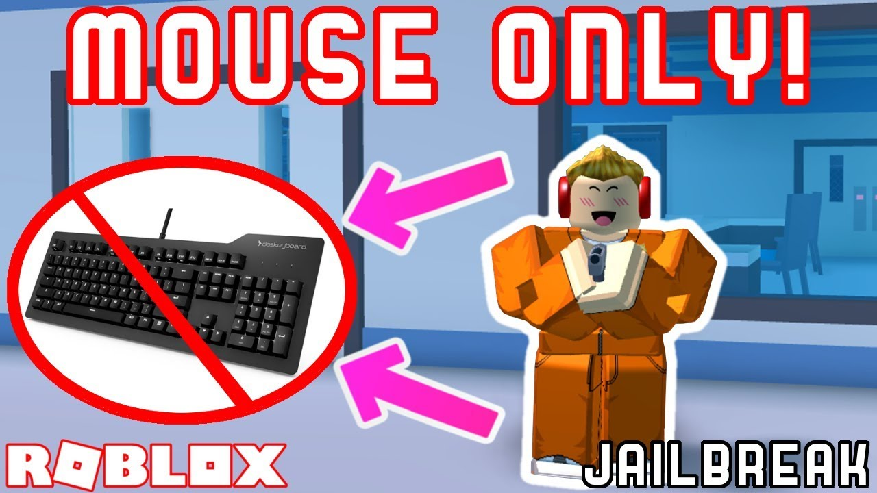 MOUSE ONLY CHALLENGE! *HARD* - Roblox Jailbreak Challenges