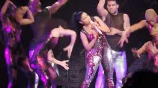 Nicki Minaj - Pound The Alarm & Turn Me On - The Pinkprint Tour Amsterdam HD
