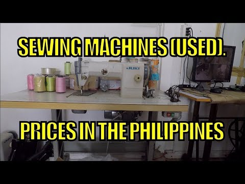 Sewing Machines (Used) Prices In The Philippines
