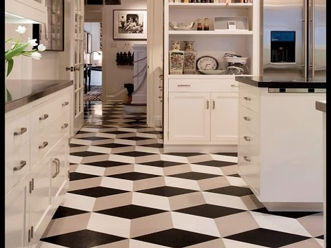 30 Practical And Cool Looking Kitchen Flooring Ideas - YouTube