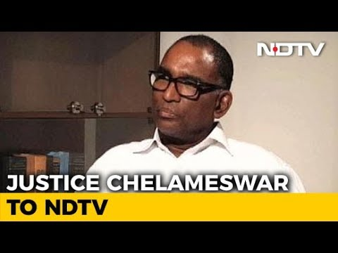 Subtle Government Interference In Judiciary: Justice Chelameswar To NDTV