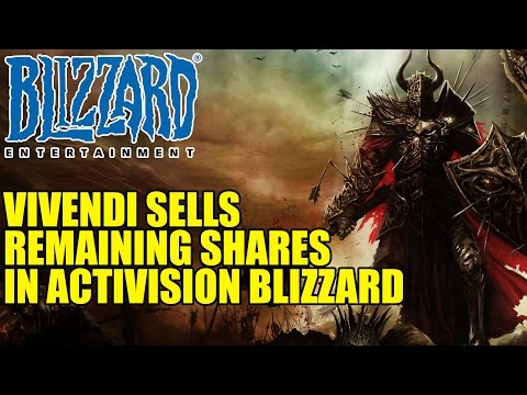 Vivendi Sells Remaining Shares In Activision Blizzard