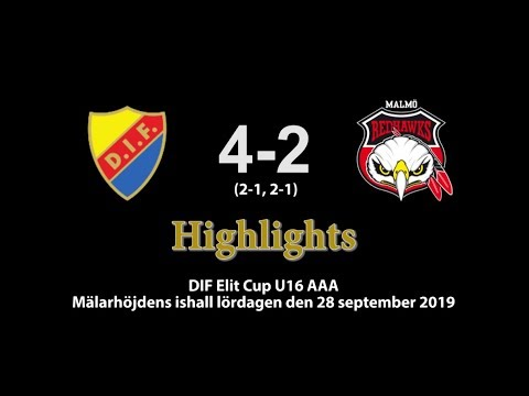 20190928 DIF-Malmö 4-2. Highlights