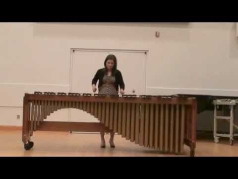 Callie Thorne on Marimba