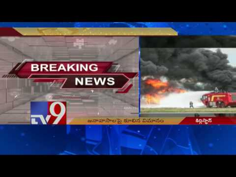 32 killed as Turkish cargo plane crashes in Kyrgyzstan - TV9