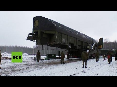 Rusia instala un nuevo misil balístico intercontinental