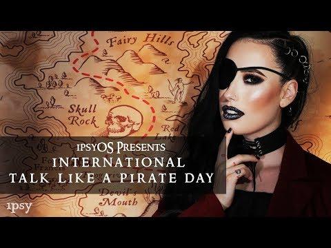 International Talk Like A Pirate Day feat. @lesleydoesmakeup | ipsy Open Studios Presents
