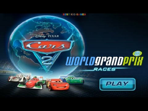 Disney Pixar Cars 2 Movie Game World Grand Prix Races - Best Kid Games