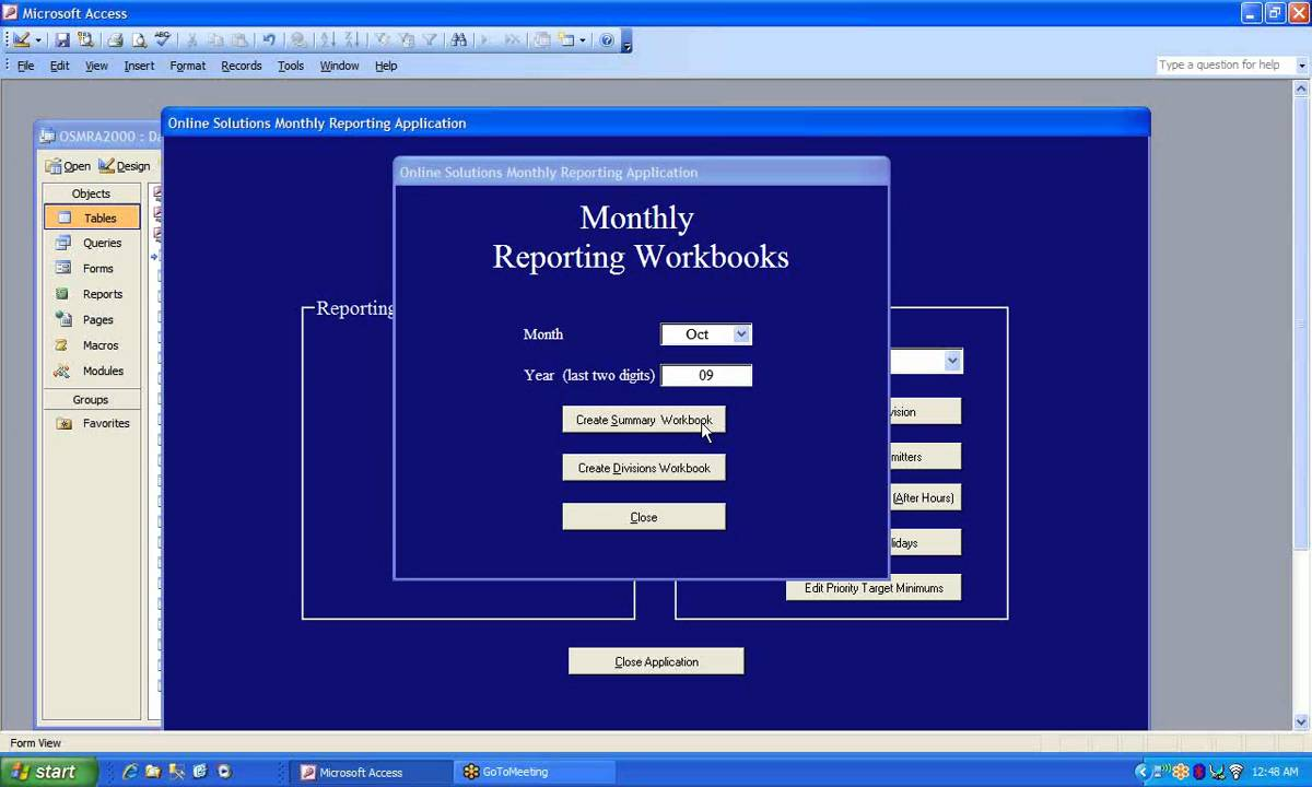Excel Automation From Ms Access Using Vba