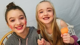 5 Year Old Does Teenagers Makeup for the 1st Time! Hilarious!