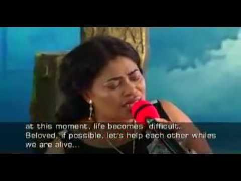Lady Pastor Selina   Preaches with OJ Nipa Hia Moa
