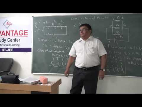 XII-2.3.Carbon resistors and combination of Resistance(2014)Pradeep Kshetrapal